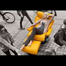 Magic yellow stressless