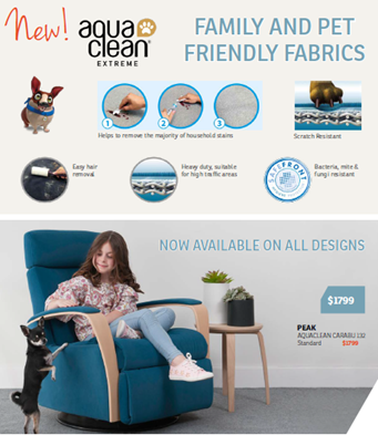 Family and pet friendly fabrics